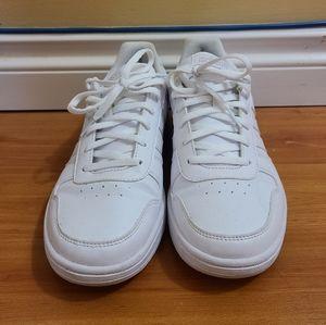White Adidas sneakers
